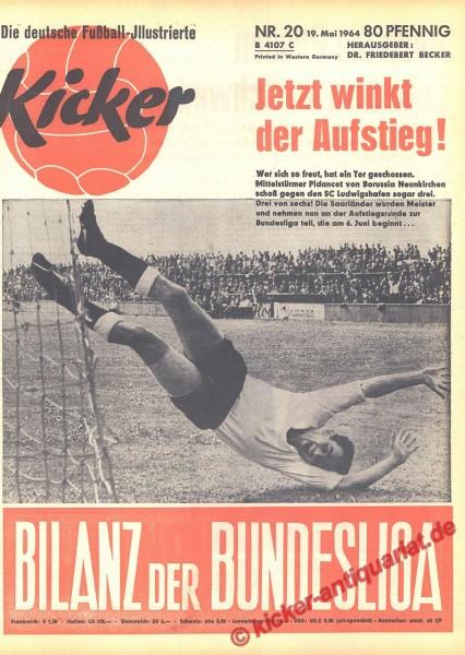 Kicker Nr. 20, 19.5.1964 bis 25.5.1964