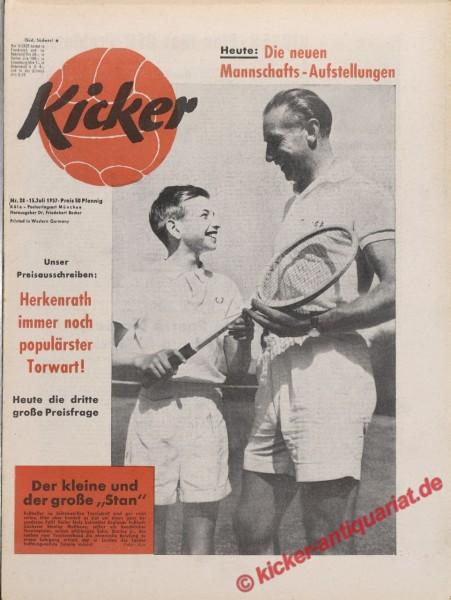 Kicker Nr. 28, 15.7.1957 bis 21.7.1957