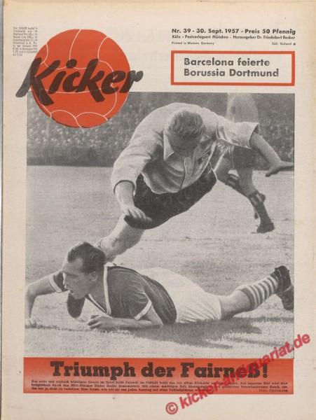 Kicker Nr. 39, 30.9.1957 bis 6.10.1957