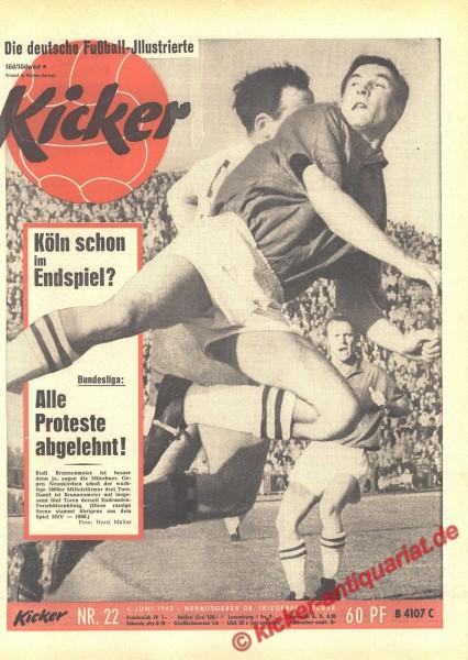 Kicker Nr. 22, 4.6.1963 bis 10.6.1963