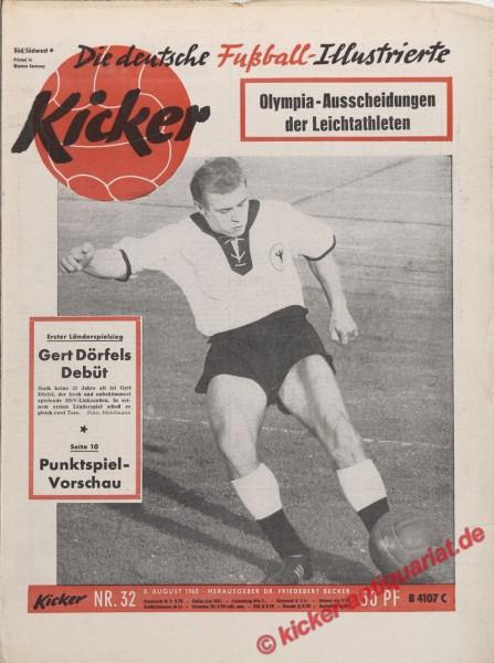 Kicker Nr. 32, 8.8.1960 bis 14.8.1960
