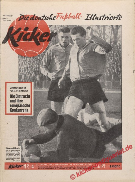 Kicker Nr. 4, 26.1.1960 bis 1.2.1960