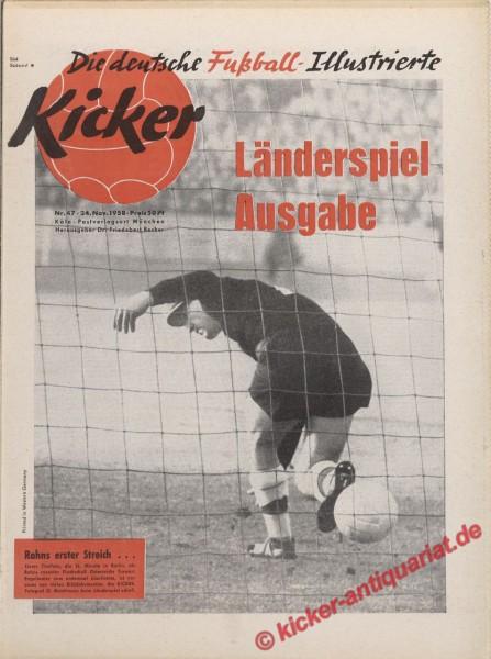 Kicker Nr. 47, 24.11.1958 bis 30.11.1958