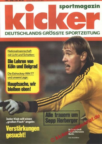 Kicker Sportmagazin Nr. 36, 2.5.1977 bis 8.5.1977