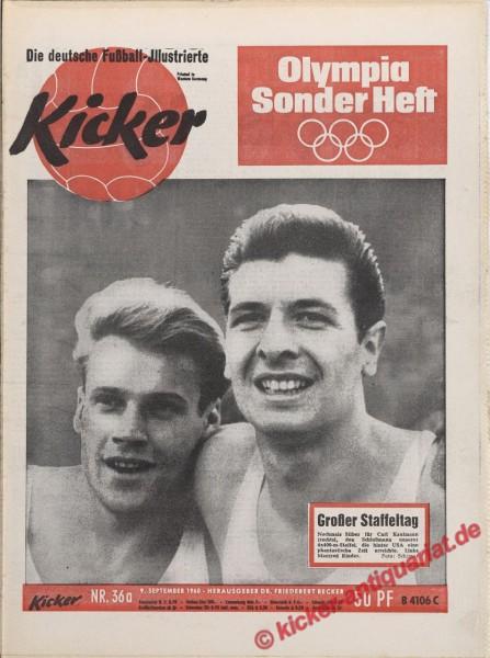 Kicker Nr. 36A, 9.9.1960 bis 15.9.1960