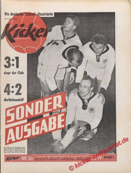 Kicker Nr. 5A, 2.2.1962 bis 8.2.1962