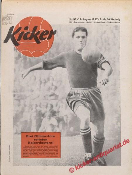 Kicker Nr. 32, 12.8.1957 bis 18.8.1957