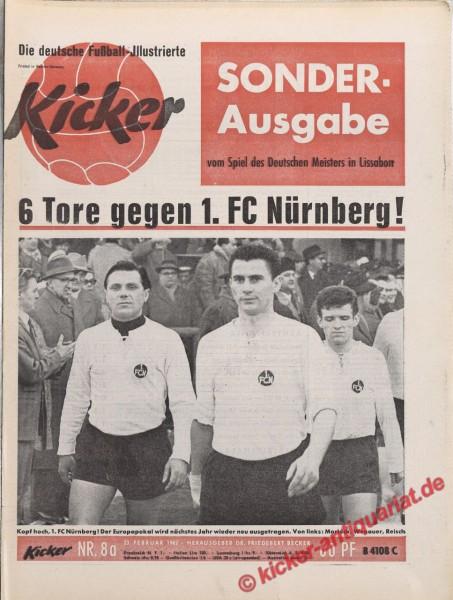 Kicker Nr. 8A, 23.2.1962 bis 1.3.1962
