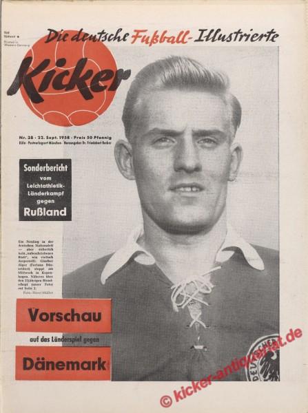 Kicker Nr. 38, 22.9.1958 bis 28.9.1958