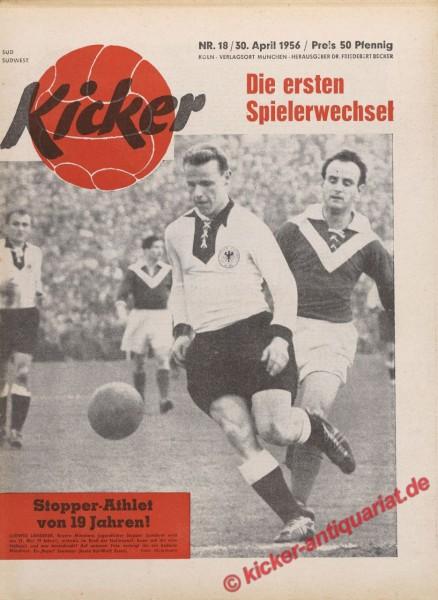 Kicker Nr. 18, 30.4.1956 bis 6.5.1956