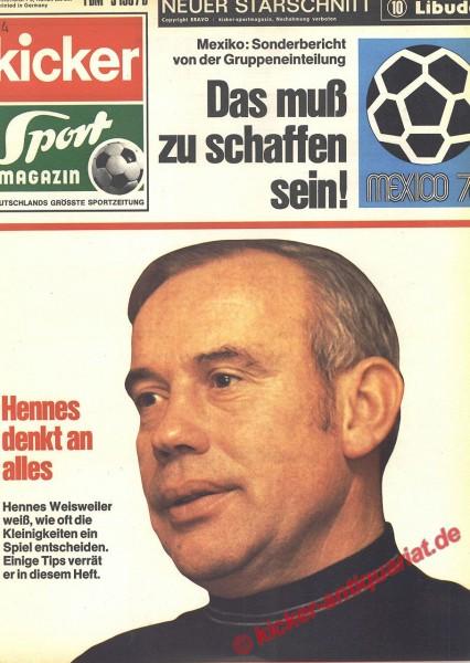 Kicker Sportmagazin Nr. 4, 12.1.1970 bis 18.1.1970