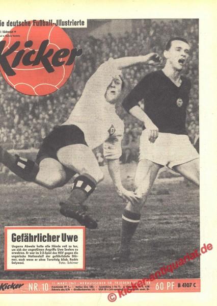 Kicker Nr. 10, 11.3.1963 bis 17.3.1963