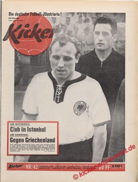 Kicker Nr. 42, 16.10.1961 bis 22.10.1961