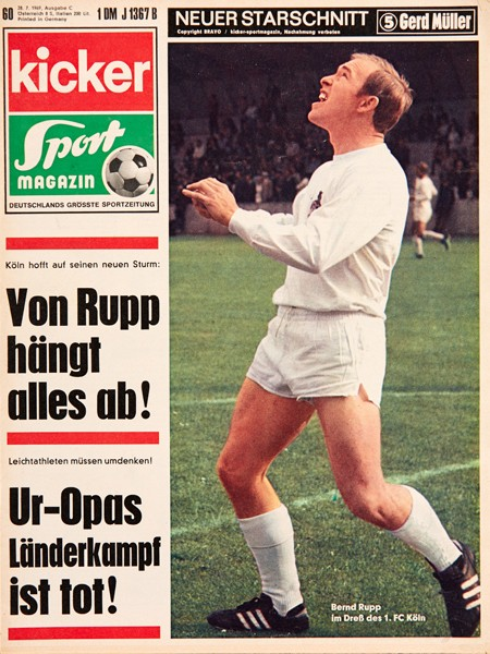 Kicker Sportmagazin Nr. 60, 27.7.1969 bis 2.8.1969