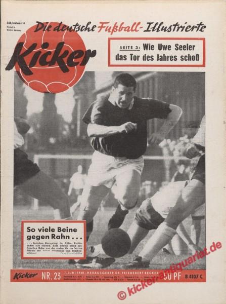 Kicker Nr. 23, 7.6.1960 bis 13.6.1960