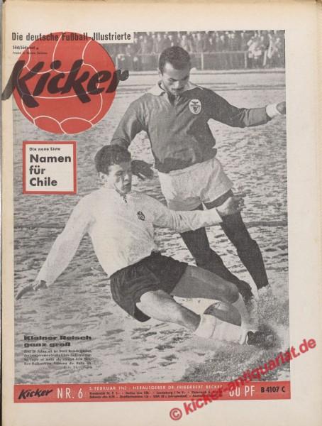 Kicker Nr. 6, 8.2.1962 bis 14.2.1962