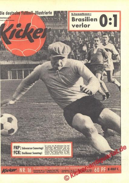 Kicker Nr. 16, 22.4.1963 bis 28.4.1963