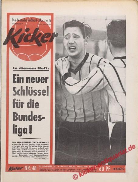 Kicker Nr. 48, 26.11.1962 bis 2.12.1962