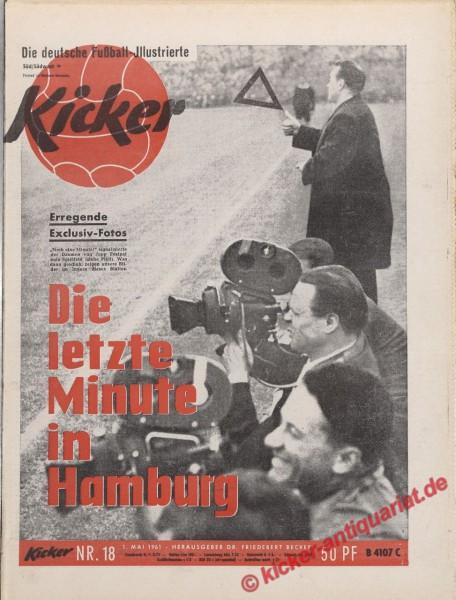Kicker Nr. 18, 1.5.1961 bis 7.5.1961