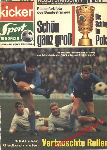 Kicker Sportmagazin Nr. 2, 5.1.1970 bis 11.1.1970