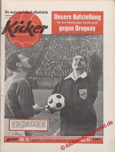 Kicker Nr. 13, 26.3.1962 bis 1.4.1962
