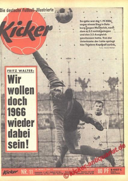 Kicker Nr. 11, 16.3.1964 bis 22.3.1964