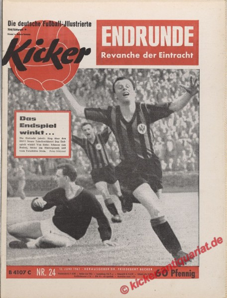 Kicker Nr. 24, 12.6.1961 bis 18.6.1961