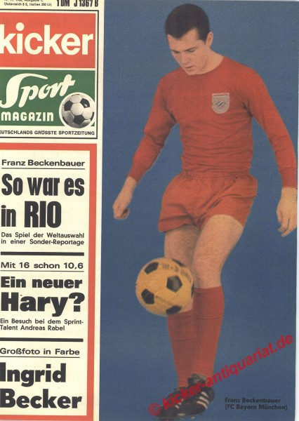 Kicker Sportmagazin Nr. 91, 11.11.1968 bis 17.11.1968