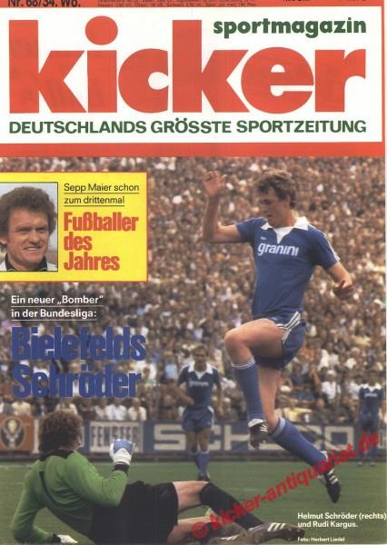 Kicker Sportmagazin Nr. 68, 21.8.1978 bis 27.8.1978
