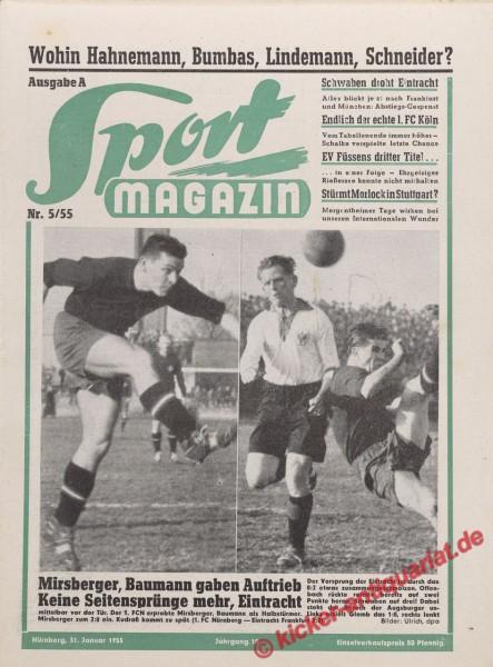 Sportmagazin Nr. 5A, 31.1.1955 bis 6.2.1955