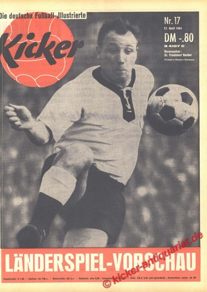 Kicker Nr. 17, 27.4.1964 bis 3.5.1964