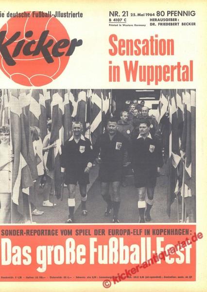 Kicker Nr. 21, 25.5.1964 bis 31.5.1964