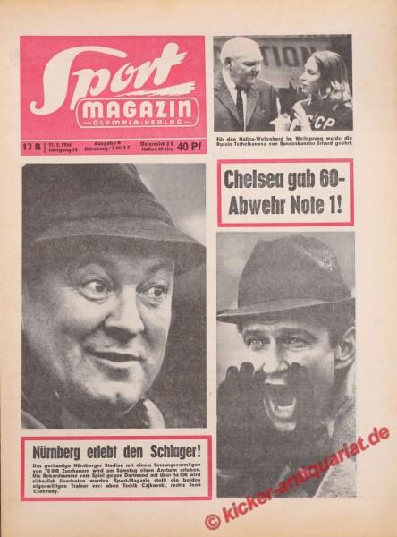 Sportmagazin Nr. 13B, 31.3.1966 bis 6.4.1966
