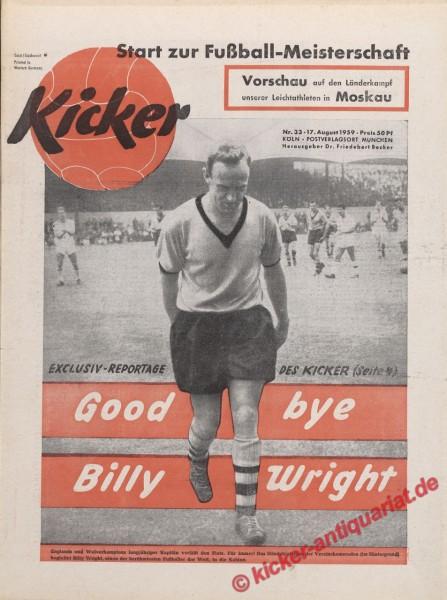 Kicker Nr. 33, 17.8.1959 bis 23.8.1959