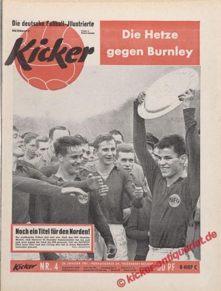 Kicker Nr. 4, 23.1.1961 bis 29.1.1961