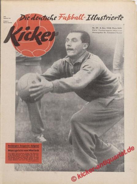 Kicker Nr. 49, 8.12.1958 bis 14.12.1958