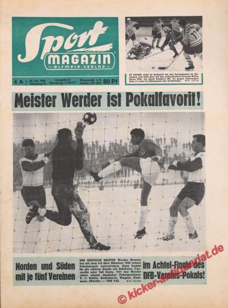 Sportmagazin Nr. 4A, 24.1.1966 bis 30.1.1966