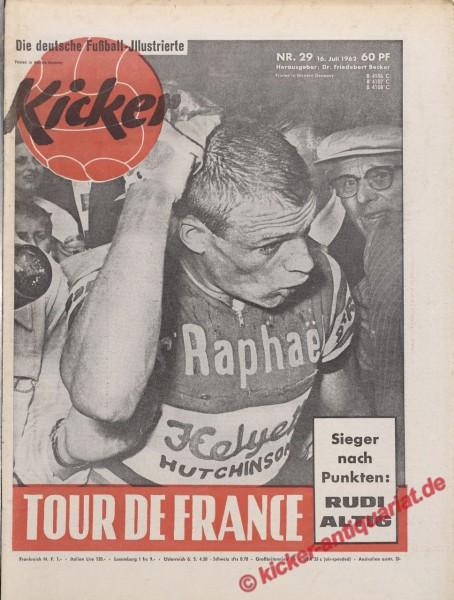 Kicker Nr. 29, 16.7.1962 bis 22.7.1962