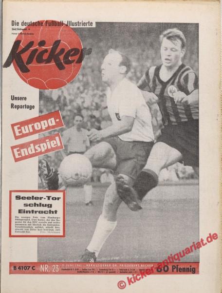 Kicker Nr. 23, 5.6.1961 bis 11.6.1961