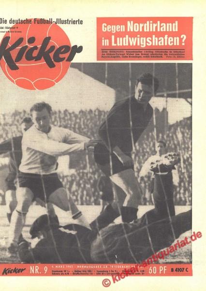 Kicker Nr. 9, 4.3.1963 bis 10.3.1963