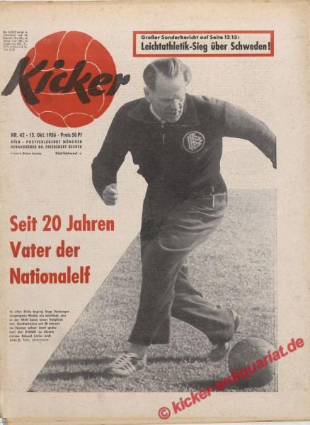 Kicker Nr. 42, 15.10.1956 bis 21.10.1956