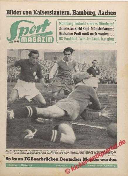 Sportmagazin Nr. 44, 31.10.1951 bis 6.11.1951