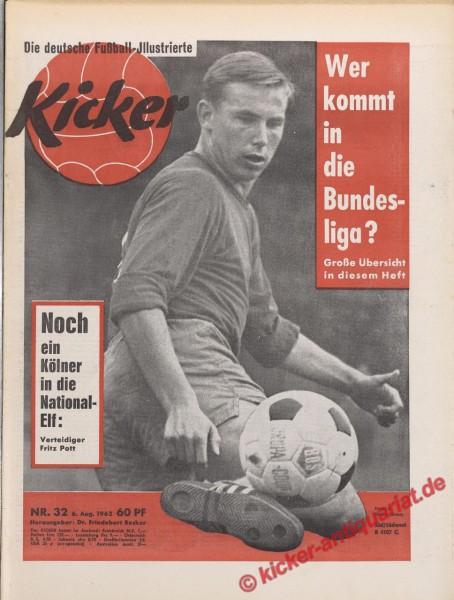 Kicker Nr. 32, 6.8.1962 bis 12.8.1962
