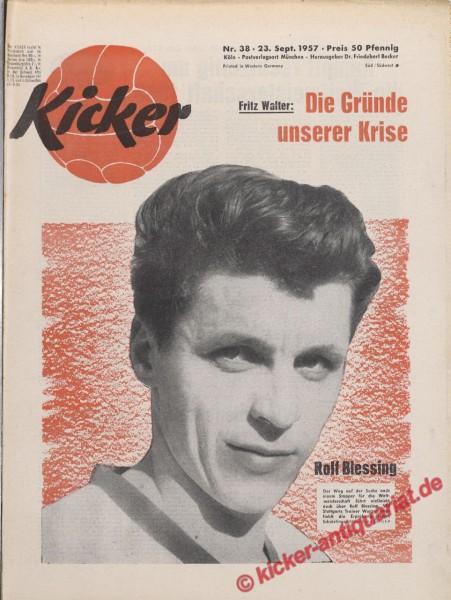 Kicker Nr. 38, 23.9.1957 bis 29.9.1957