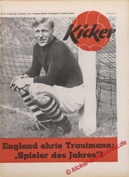 Kicker Nr. 15, 9.4.1956 bis 15.4.1956