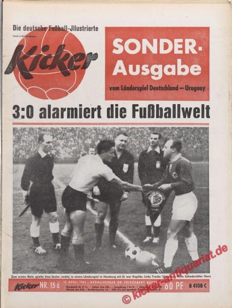 Kicker Nr. 15A, 12.4.1962 bis 18.4.1962