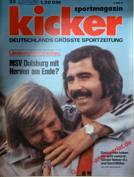 Kicker Sportmagazin Nr. 32, 16.4.1974 bis 22.4.1974