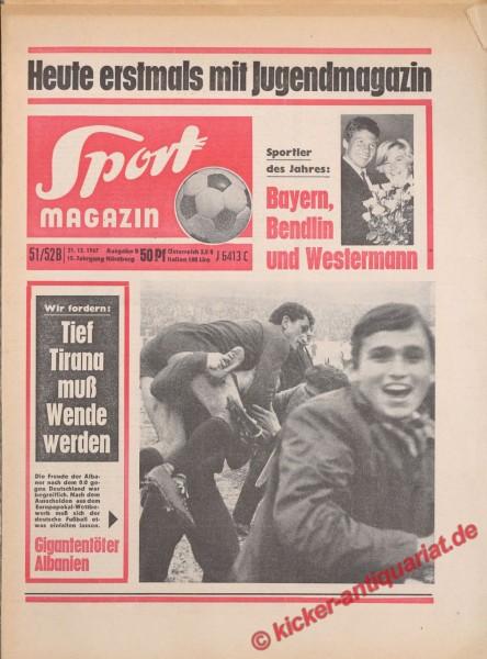 Sportmagazin Nr. 51B, 21.12.1967 bis 27.12.1967