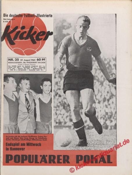 Kicker Nr. 35, 27.8.1962 bis 2.9.1962