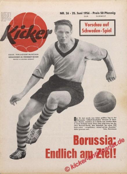 Kicker Nr. 26, 25.6.1956 bis 1.7.1956